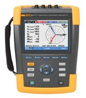 FLUKE 437-II - 400 Hz Power Quality and Energy Analyzer - FLUKE437-II