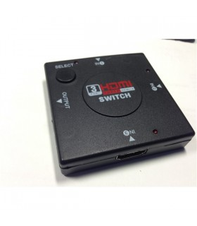 Comutador Hdmi Amplificado 3 Entradas 1 Saida - HDMI3E1S01