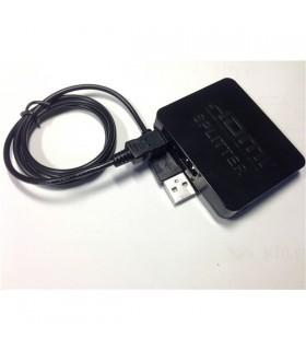 Splitter Hdmi Amplificado 1 Entrada 2 Saidas 4k - HDMI1E2S4K