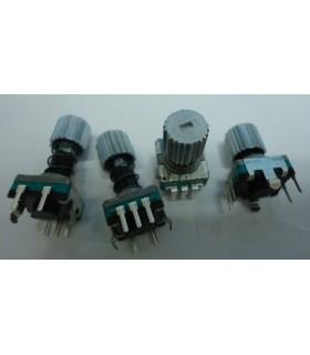 EC11E152T409 - ENCODER, PUSH LOCK, 11MM, 30D, 15PPR - EC11E152T409
