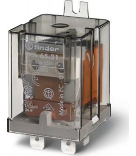65.31.8.230 - Rele Finder 230V 30A 1 Inversor - F65318230