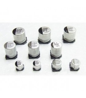 Condensador Electrolitico 47uF 25V SMD - 354725D