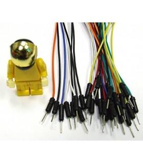 1 Pin Dual-Male Breadboard Jumper Wire - MX120530005