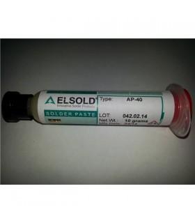 Fluxo Elsold AP40 10cc - Para solda com e sem chumbo - AP40-10