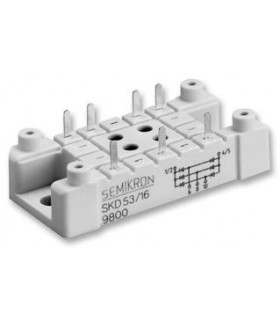 SKD83/16 - Bridge Rectifier Diode, Three, 1.6 kV, 83 A - SKD83/16