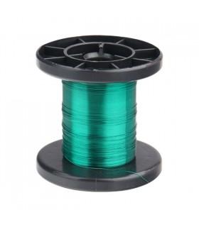 DNLD15-4 - Arame Esmaltado de Cobre 0,15mm Verde - DNLD15-4