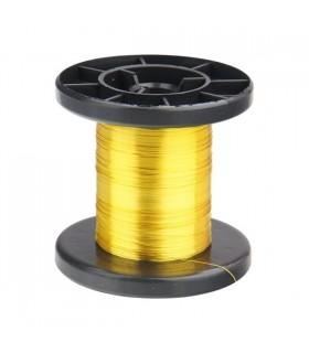 DNLD15-3 - Arame Esmaltado de Cobre 0,15mm Amarelo - DNLD15-3