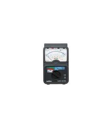 MX406B - Medidor de Isolamento Analogico Metrix - MX406B