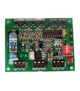 I-303 - Temporizador Multifunçoes Digital Duplo 12/24Vdc - I-303
