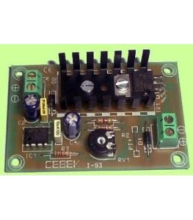 I-93 - Temporizador Intermitente 0.3 a 6s 5-15Vdc - I93