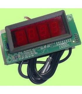 "I-86.4 - Termostato com Display 4"" 12Vdc - I-86.4"
