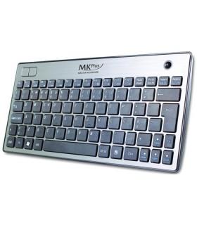 Teclado Wireless MK Pluscom trackball - TG6910