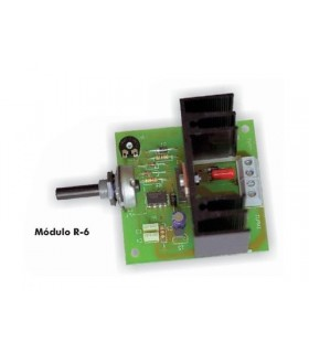 Regulador Velocidade Motores Cc - R-6