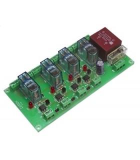 T-41 - Interface 4 Reles 2 Contactos 230Vac - T-41
