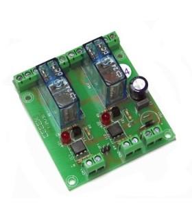 T-35 - Interface 2 Reles 2 Contactos 24Vdc - T-35