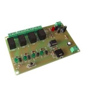 UCPIC-6 - Modulo Picaxe Com 4 Saidas de Relés - UCPIC-6