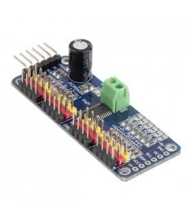 PCA9685 - Controlador Servo 16 Canais, 12 Bit - ADPCA9685
