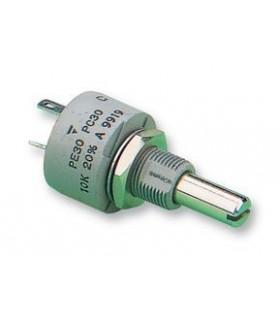 PE30L0FL222KAB - Potenciometro 2k2 3W 1 volta VISHAY - PE30L0FL222KAB