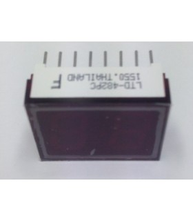 LTD482PC - Display 7 Segmentos Vermelho Duplo - LTD482PC