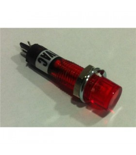 Sinalizador Neon 220V Vermelho - 147409
