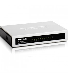 Switch Tp-Link SF1008 8 Portas 10/100MBPS - SF1008D