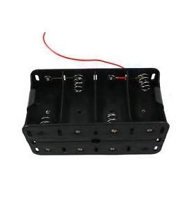 Suporte 8 Pilhas LR14 - S8LR14