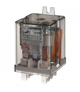Rele FInder 2 Inversores 230Vac 10Amp - F606223010