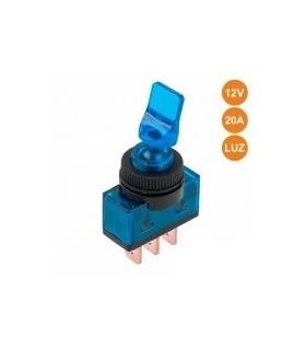 Interruptor Alavanca Luminoso Azul - ITR110BL