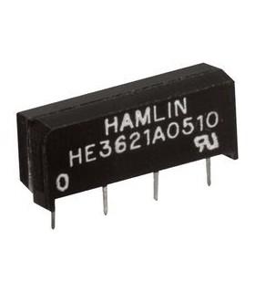 HE3321A0400 - Reed Relay, SPST-NO 5VDC 500mA - HE3321A0400