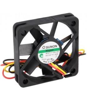 Ventilador 12V 50X50X10mm 1.32W 3 Fios - V125S