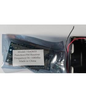HEX3653 - Kit Recetor FM AV2B Stereo - HEX3653