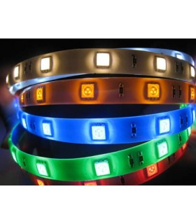 Fita Led SMD5050-60 IP65 14,4W/M 3000K Silicone - LL277/S