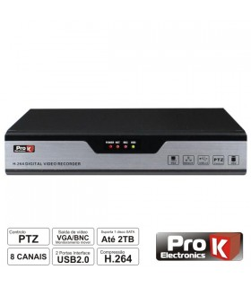 DVR08FK -  Gravador Digital 8 Camaras - DVR08FK