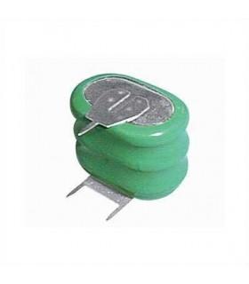Acumulador 3.6V 160mAh Ni-Mh oval - 169BAT088