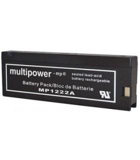 MP1222A - Bateria Gel Chumbo 12V 2Ah - MP1222A