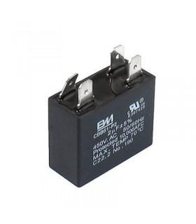 CBB61 - Condensador Filtragem 10uF 450VAC c/ Pinos - CBB6110UCP