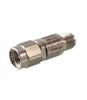 Broadwave 879-126-BLK DC Block 75Ohm 10-3000MHz - 879126BLK