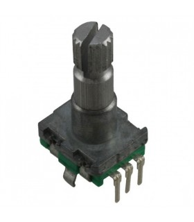 Encoder 11mm c/ Interruptor Veio Redondo 15mm 20 Det - MXEN11HSB1AQ15