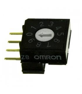 Encoder DEC/BCD 10 Posiçoes 200mR Omron - A6RV101RF