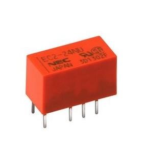 EC2-5SNU - Rele 5V 2A DpDt - EC2-5SNU