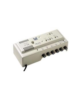 Amplificador de cabeceira 4 ent, 2 sal, UHF-UHF-VHF-BI/FM - CA-312