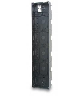 Caixa de encastrar montada para 17 ou 18 alturas - CMO-018