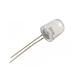 Led 10mm Branco 85000-10000mcd - 12410ABW