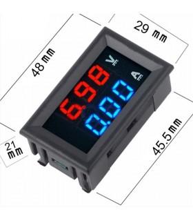 DIGVAMP - Voltimetro Amperimetro de Painel - DIGVAMP