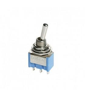 Interruptor Mini 1 Circuito 2 Posições ON/OFF 3A 250V - MX51570