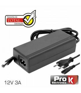 ALIMENTADOR SWITCHING 12V 3A PARA LCD PROK - FAS12V3AB