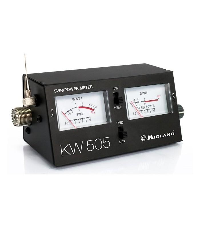 KW505 - Medidor SWR/PWR 26-30 MHz