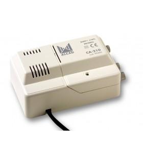 Amplificador de cabeceira 1 ent, 2 sal, UHF/VHF/BS, 102 dBµV - CA-210