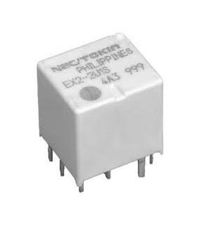 EX2-2U1 - Rele SPDT x2 12VDC 30A - EX22U1S