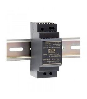 HDR-30-15 - Fonte Alimentação de Calha DIN 15Vdc 2A 30W - HDR-30-15